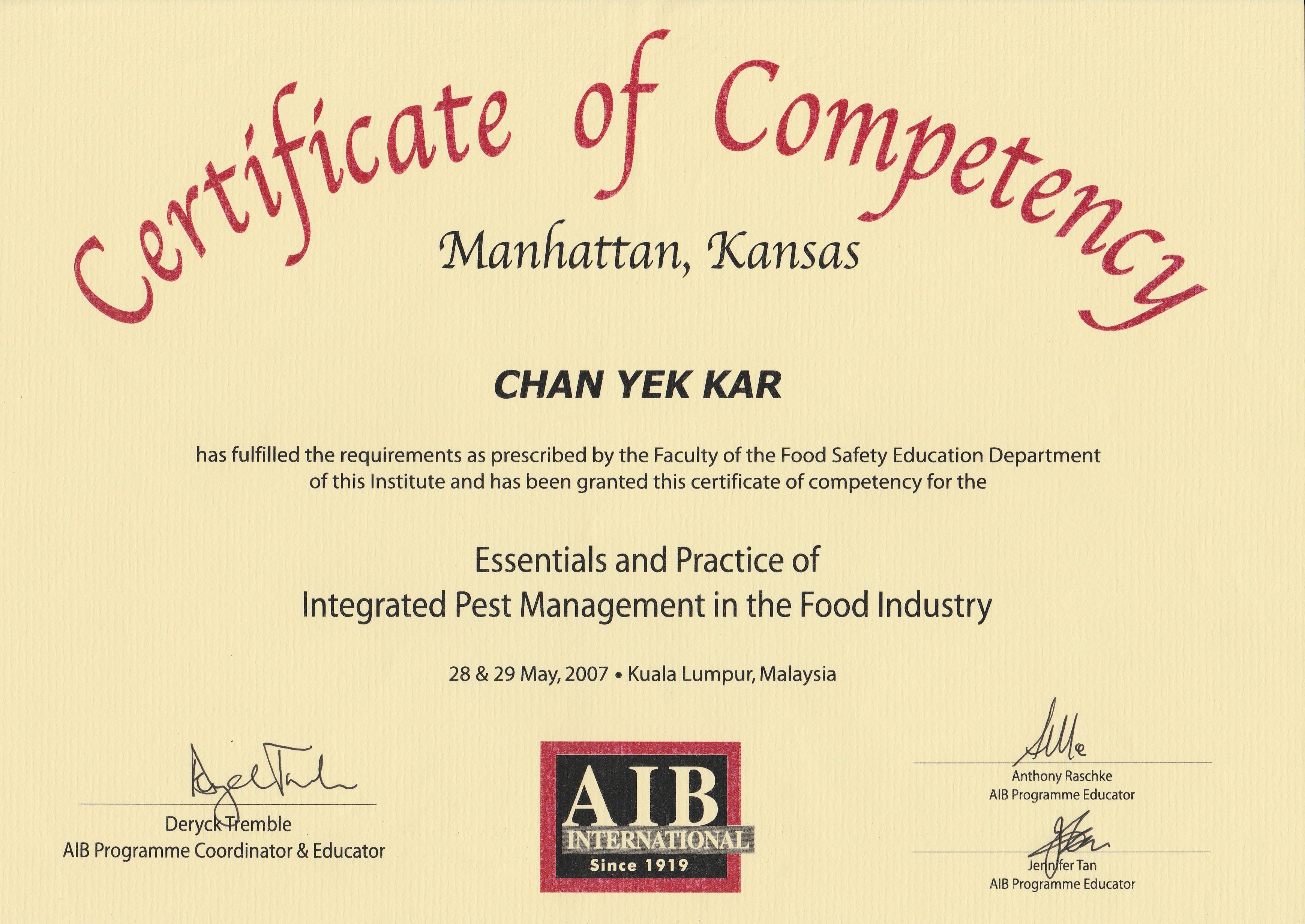 certificate  u0026 award